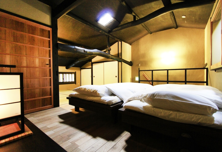 Yamanaka Guest house, Kyoto, Japanese Style Townhouse - Nishi-no-tai (Beds + Futons), Room