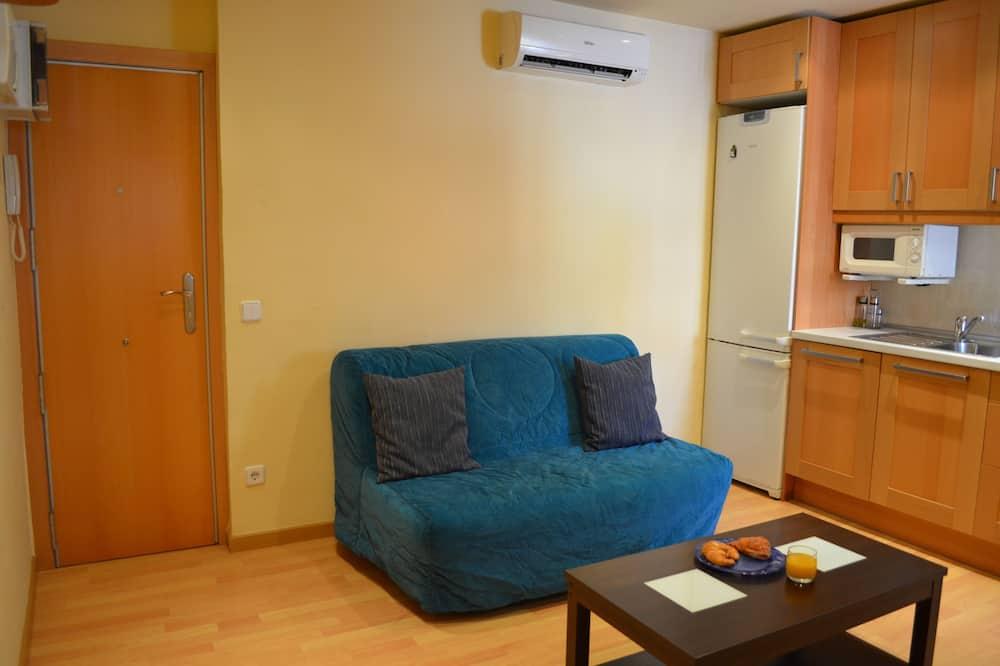 基本公寓, 1 間臥室 - 客廳
