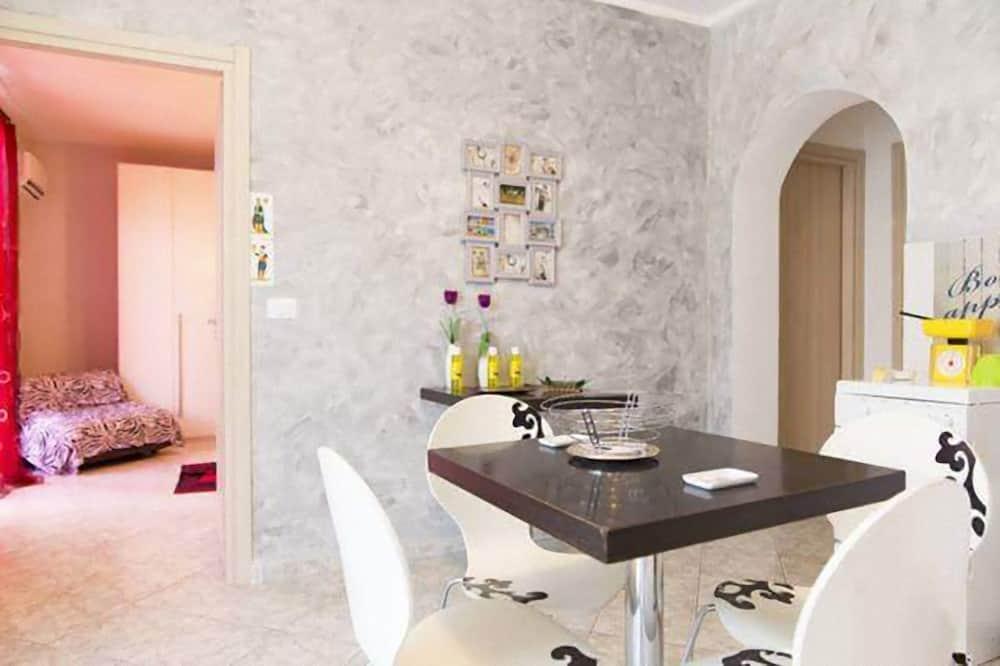 Apartmá typu Basic, 1 ložnice, výhled na město - Obývací prostor
