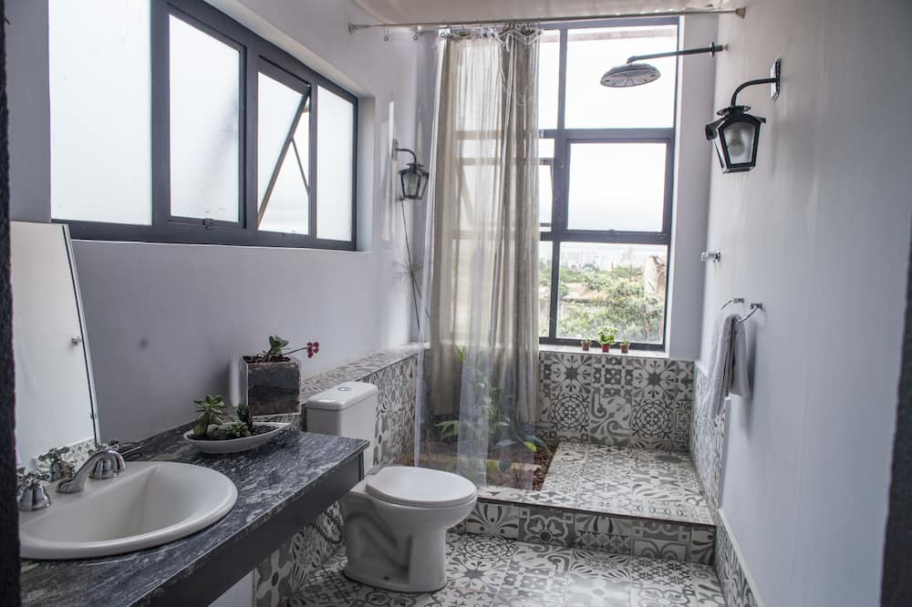 Panoramic Double Room, Balcony - Bathroom