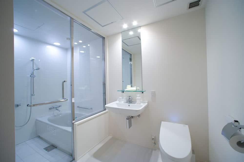 スタンダード ツインルーム 2 ベッドルーム 禁煙 - バスルーム