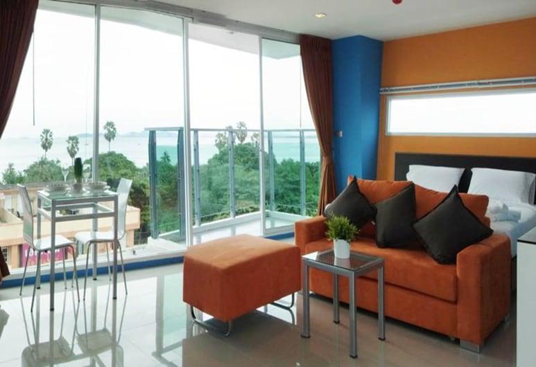 La Casa Pattaya, Pattaya, Deluxe Studio, Living Area
