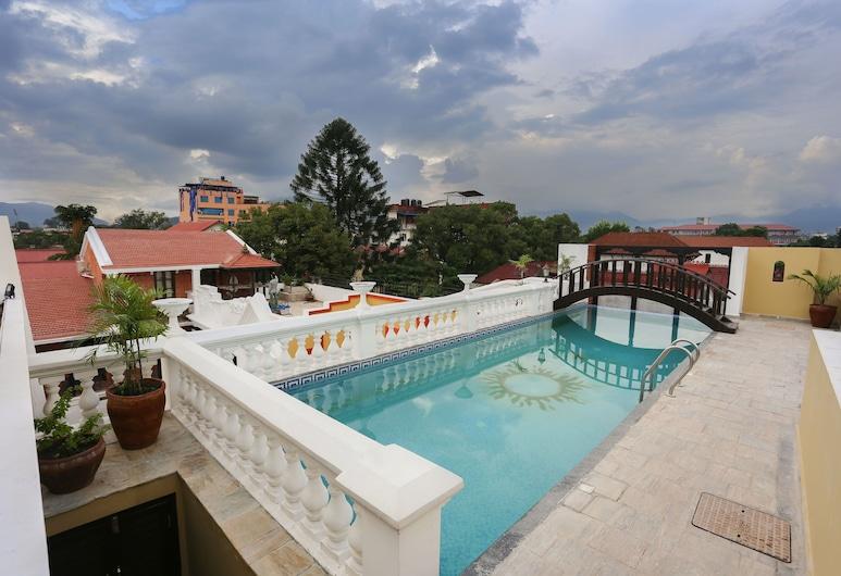 Baber Mahal Vilas, Kathmandu, View from Hotel