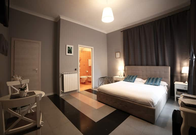 Dhome B&B, Rom, Dobbeltværelse med dobbeltseng eller 2 enkeltsenge - eget badeværelse, Værelse