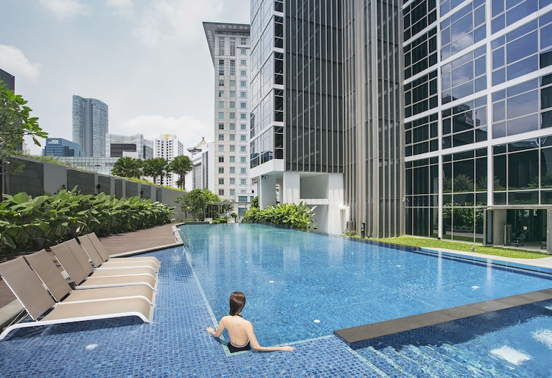 Ascott Orchard Singapore, Singapore, Penthouse (Murano Suite), Outdoor Pool