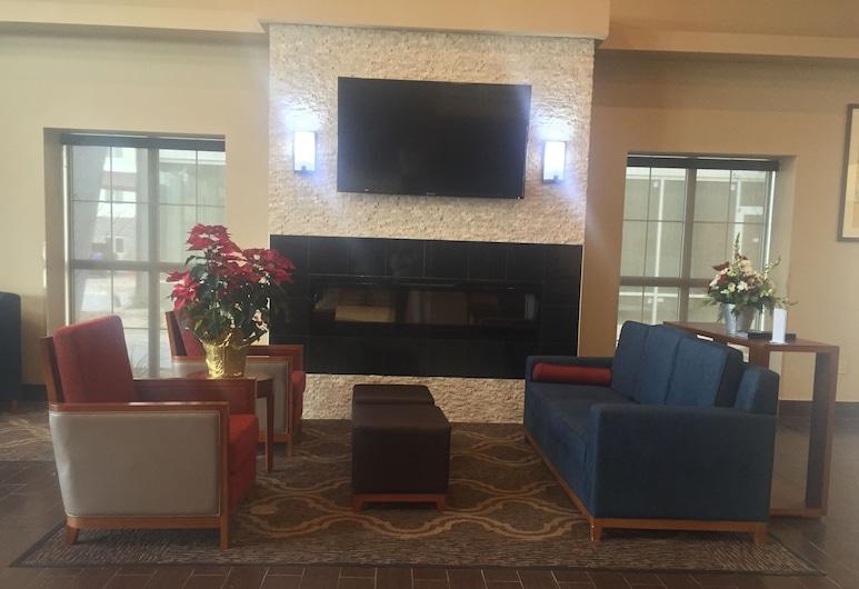 Comfort Suites University, לובוק, אזור ישיבה בלובי