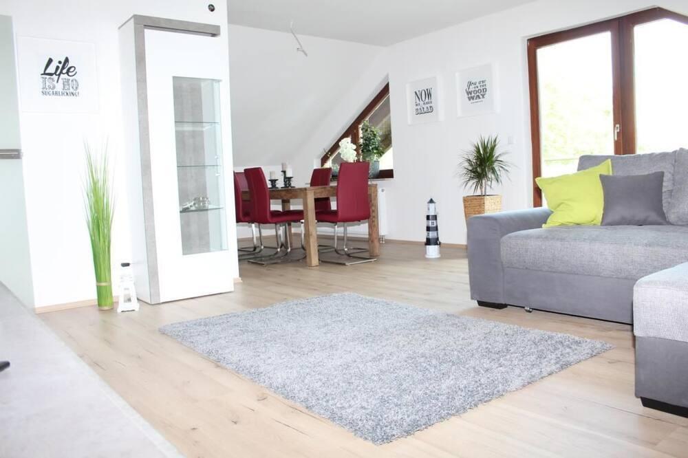Departamento Premium, 2 habitaciones, balcón (Apartment Loeffelstiel) - Sala de estar