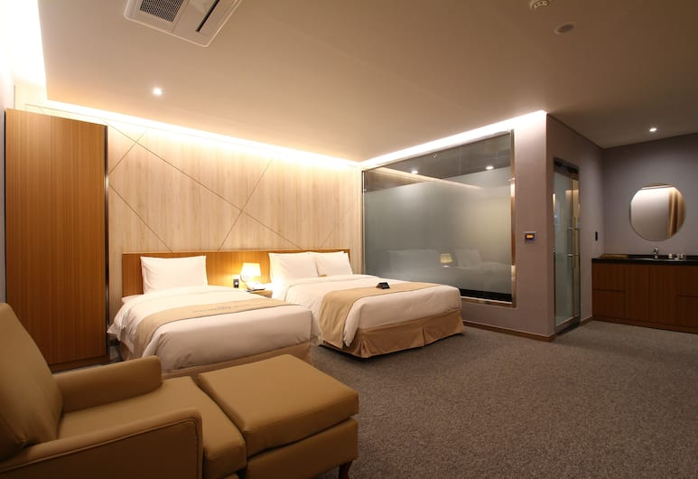 Incheon STAY Hotel, Incheon, Superior Twin Room, Guest Room
