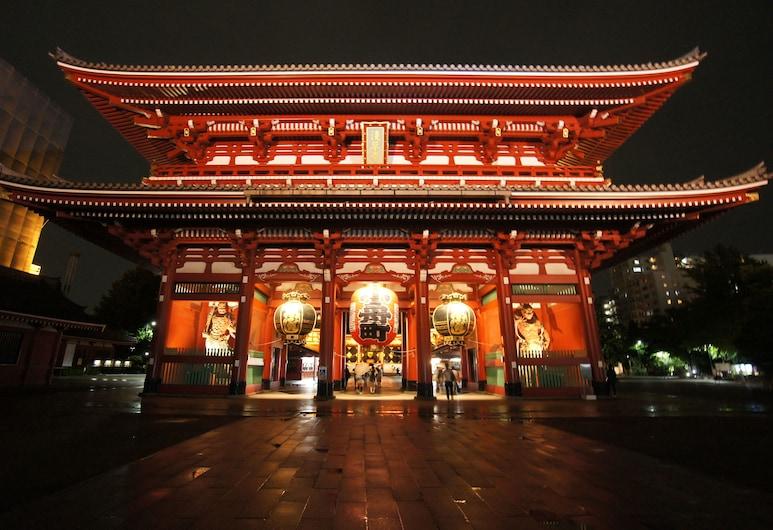 ホテルトレンド浅草Ⅰ, 台東区, ホテルのフロント - 夕方 / 夜間