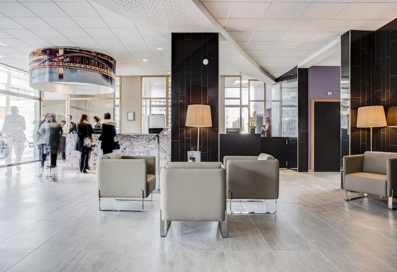 Hotel ParkSaône, Lyon, Interior Entrance