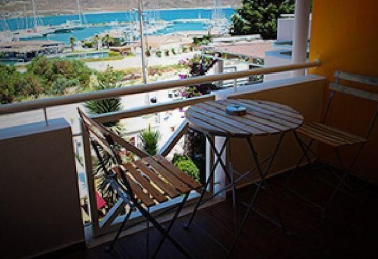 Parvaport Otel, Cesme, Standard Tek Büyük veya İki Ayrı Yataklı Oda, Balkon