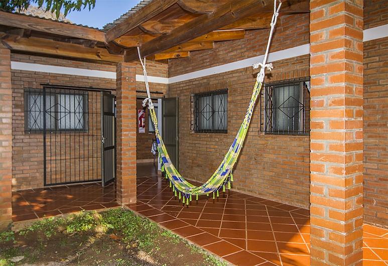 Posada Madre America, San Ignacio, Ubytování ve společné místnosti, Terasa