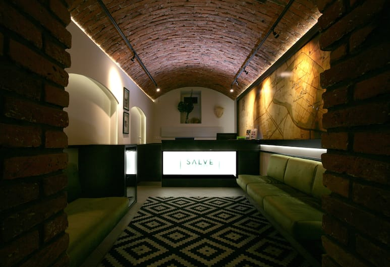 Salve Apartments, Krakow, Sitteområde i lobbyen
