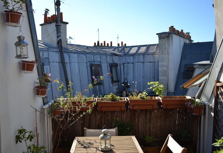 Lokappart - Montorgueil, Paryż, Apartament, 1 sypialnia (9 Rue du Caire, 75002), Taras/patio