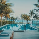 Villa, 3 habitaciones, piscina privada, frente al mar - Alberca privada