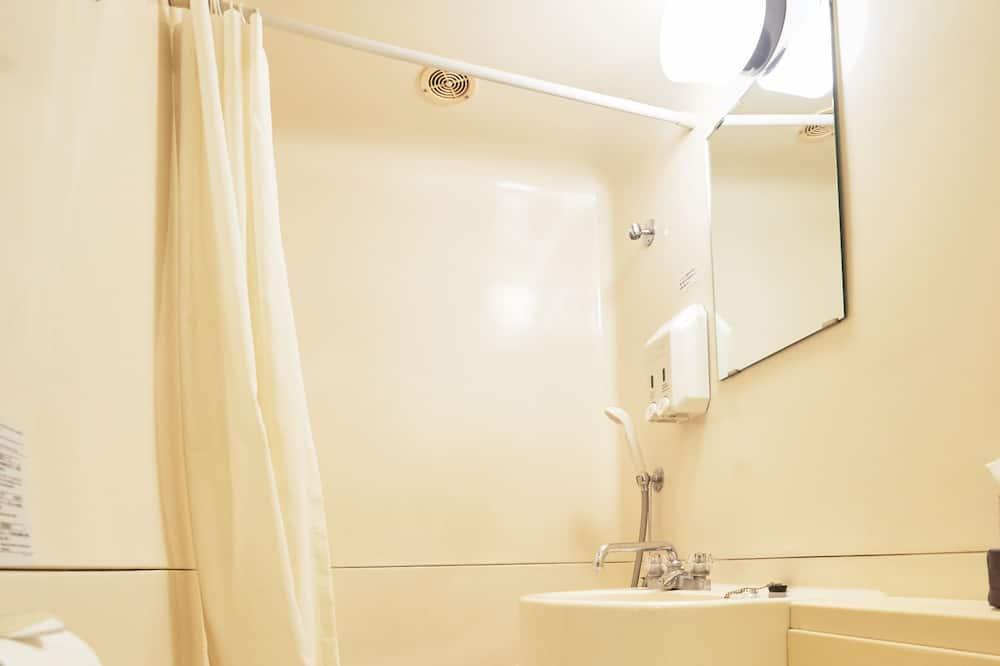 غرفة عادية لاثنين - لغير المدخنين (2 Semi-Double Beds) - حمّام