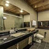 超廣角海景四人房 - 浴室