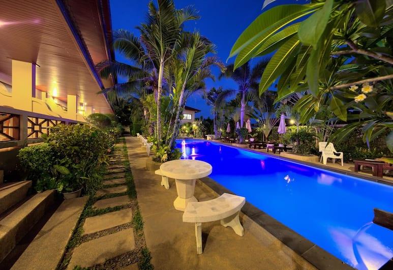 奧姆拜豪華酒店, 蘇梅島, 室外泳池