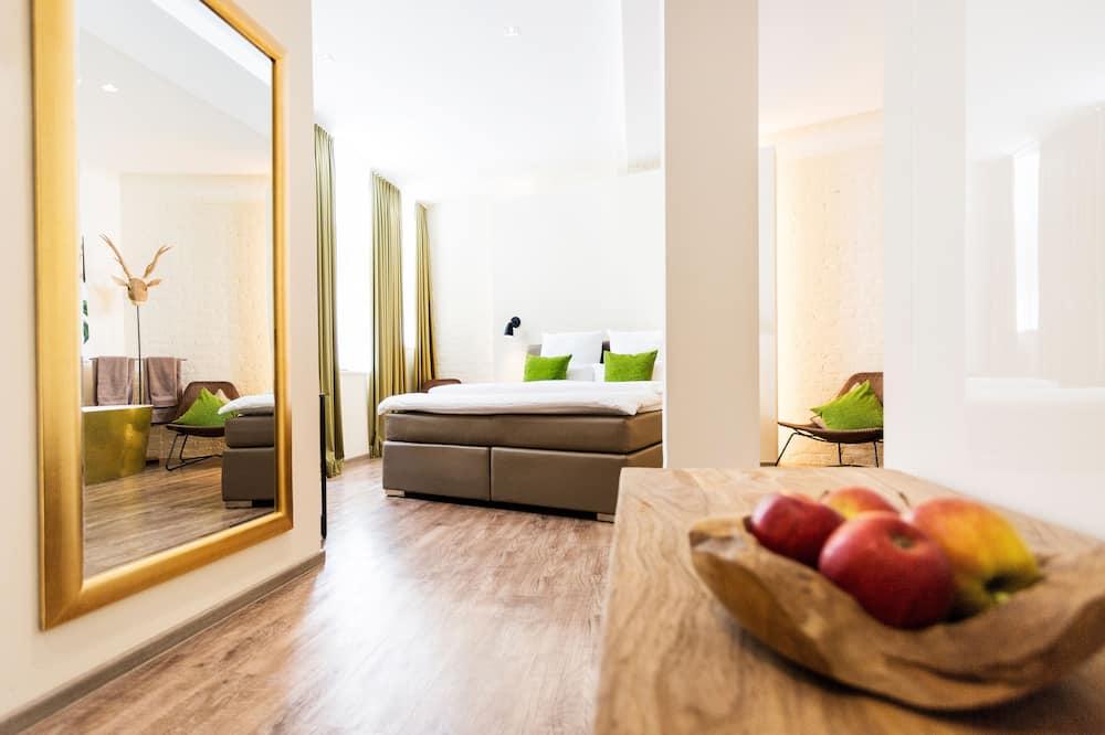 Deluxe-Doppelzimmer, 1King-Bett, Nichtraucher, Whirlpool - Zimmer