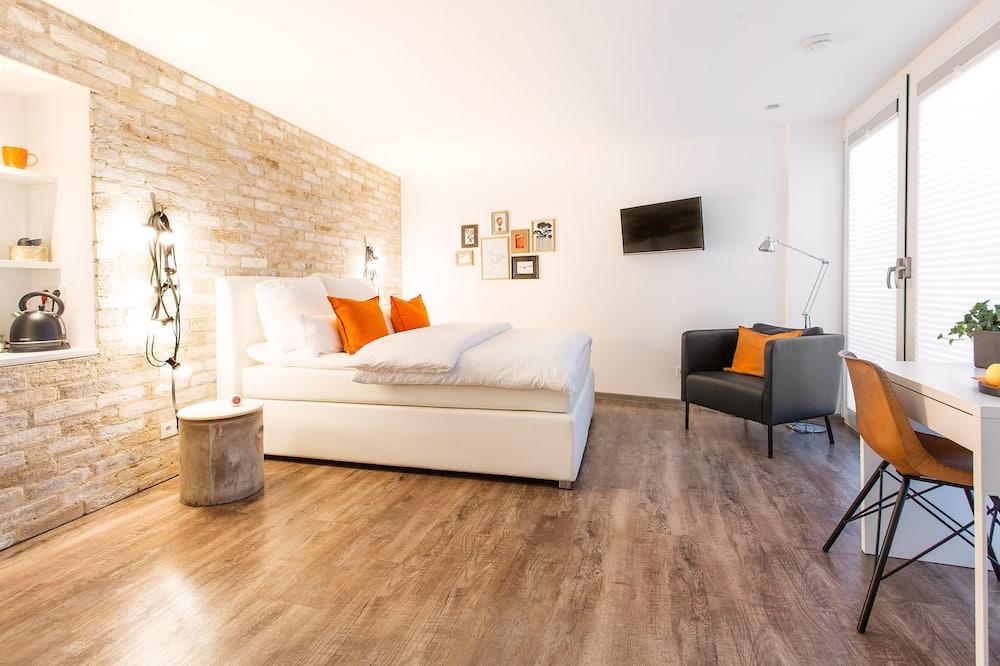 Business-Doppelzimmer, 1 Queen-Bett, Nichtraucher - Wohnbereich