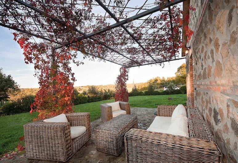 Borgo di campagna Il Tesoro, Akvapendentė, Kambarys (1 dvigulė / 2 viengulės lovos), Terasa / vidinis kiemas