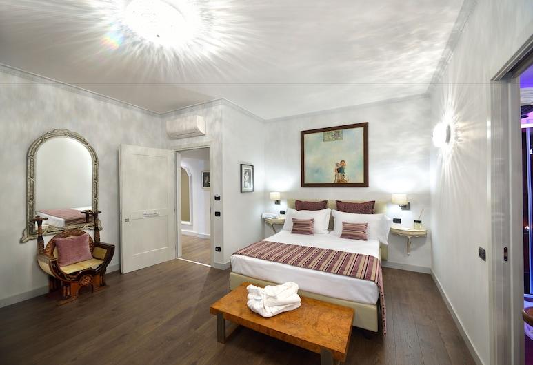 Suites Rome Condotti, Roma, Suite, 1 letto queen, terrazzo, Camera
