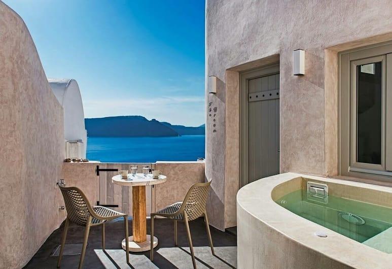 The Dream, Santorini, Honeymoon Villa, Jetted Tub, Terrace/Patio