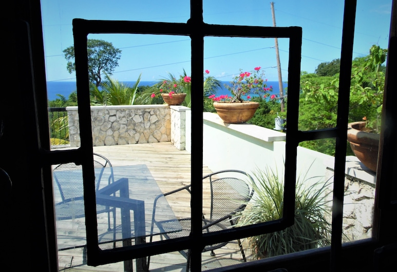 Mynt Retreat Bed and Breakfast, Montego Bay, Rom – deluxe, 1 soverom, Balkong