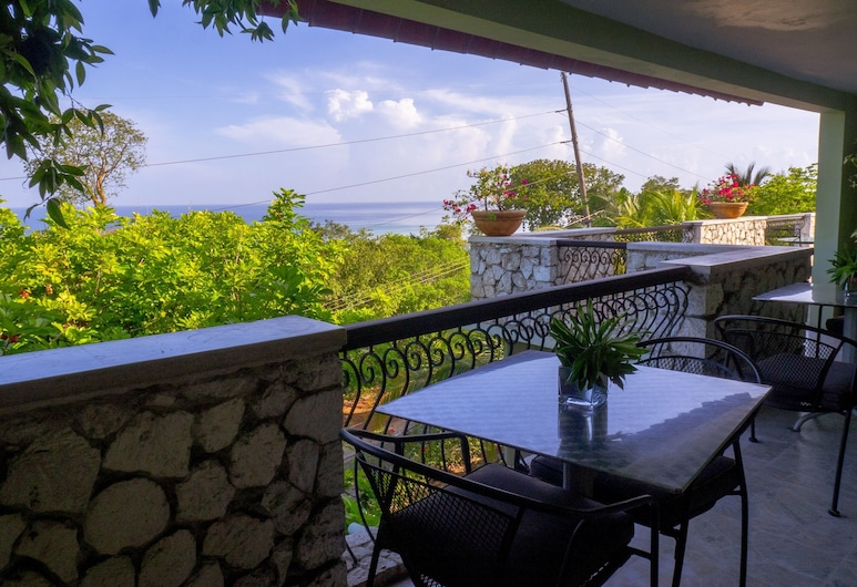 Mynt Retreat Bed and Breakfast, Montego Bay, Kamar Single Standar, Pemandangan Balkon