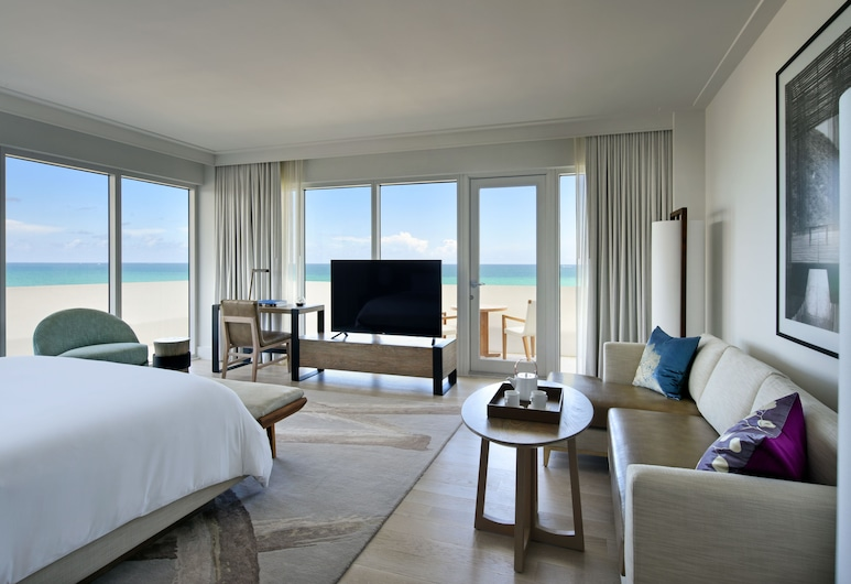 Nobu Hotel Miami Beach, Маямі-Біч, Номер-люкс, 1 ліжко «кінг-сайз» (Nobu Zen), Номер
