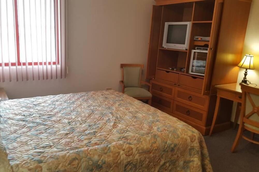 ห้องพัก, เตียงใหญ่ 1 เตียง, วิวภูเขา - พื้นที่นั่งเล่น