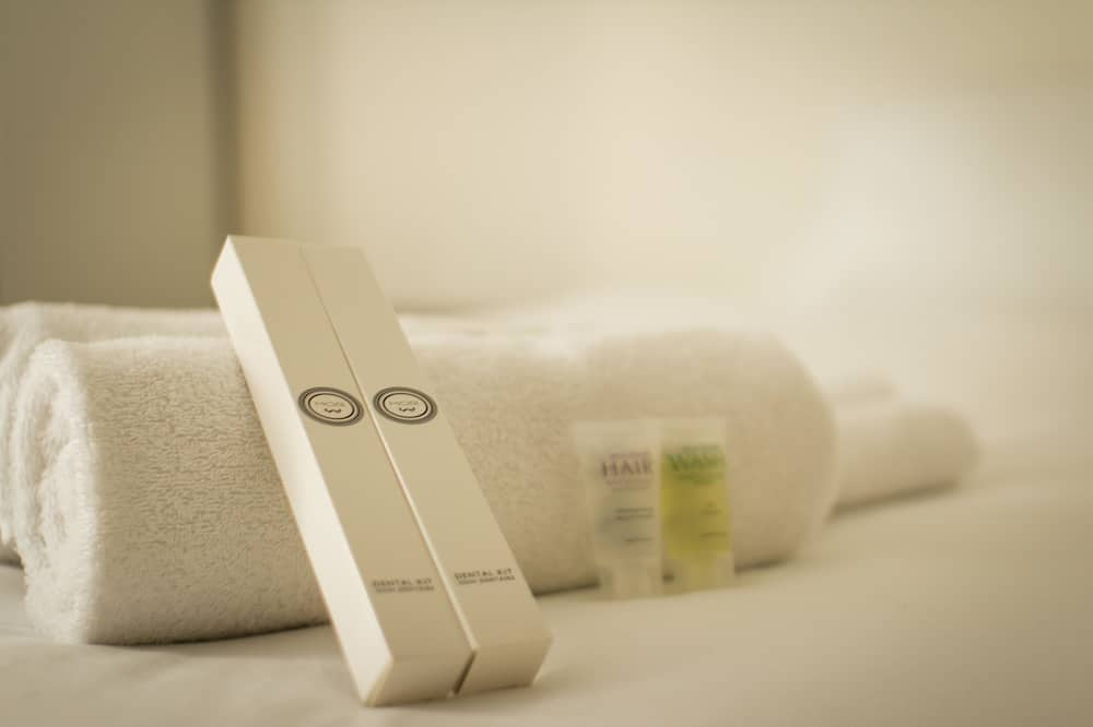 Tweepersoonskamer, gemeenschappelijke badkamer - Badkamervoorzieningen
