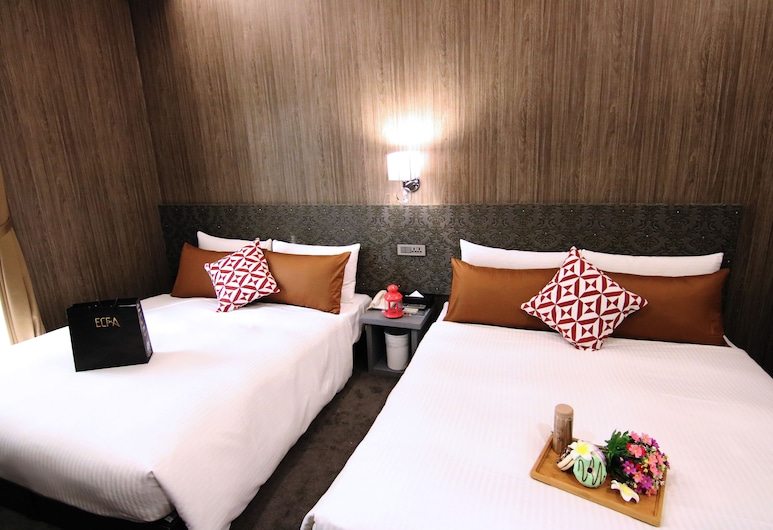 Ximen 101-s HOTEL, Taipei, Familiekamer, Kamer