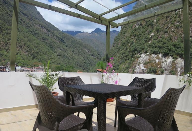 Hotel Terraza de Luna, Machu Picchu, Terrasse/Patio