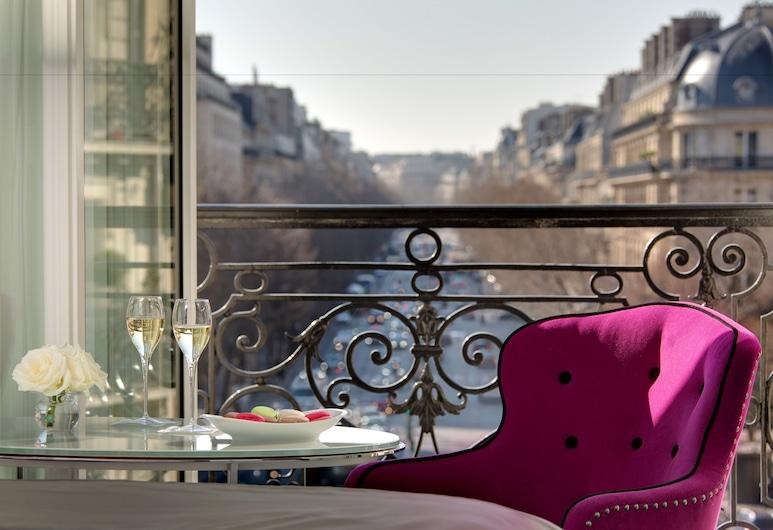 La Villa Haussmann, Paris, Deluxe Tek Büyük Yataklı Oda, Oda