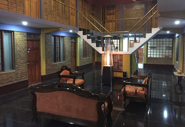 Tonito Hotel, Uyuni, Siddeområde i lobby