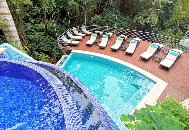 Jungle Vista Boutique Hotel, Manuel Antonio, Terasa/trijem