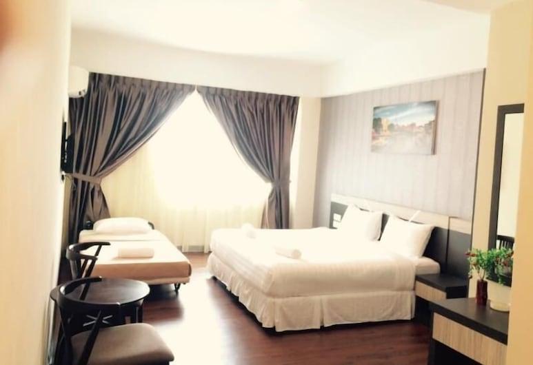 707 Hotel Melaka, Malacca City, סוויטה משפחתית, חדר אורחים
