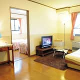 סוויטת ג'וניור, 2 חדרי שינה, מקרר, נוף לגן - אזור מגורים