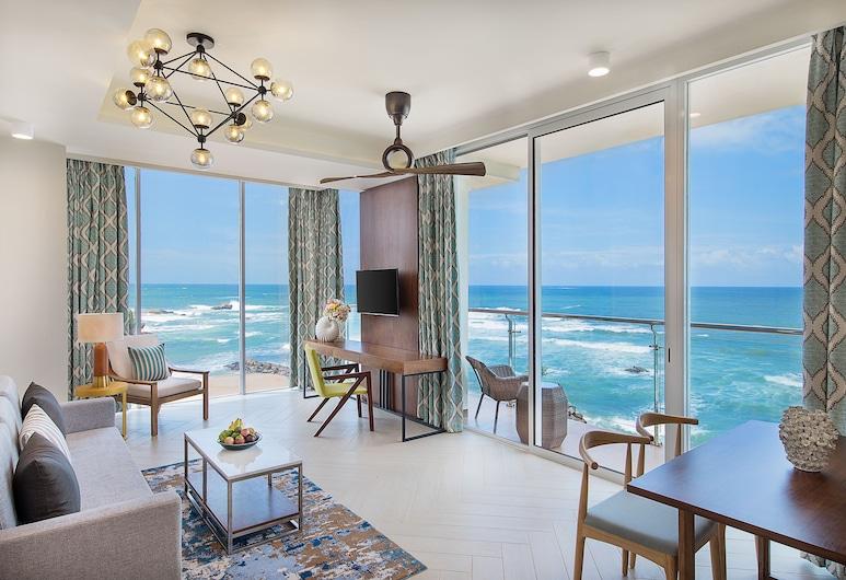 Amari Galle, Galle, Suite, 1 habitación, vista al mar, Sala de estar