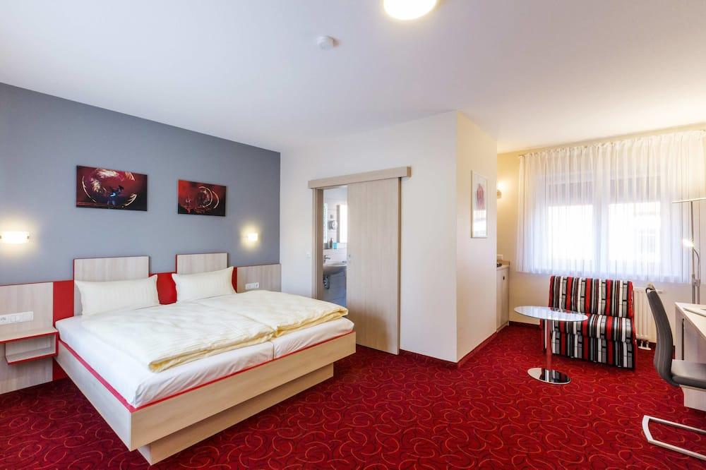 Chambre Simple Supérieure, 1 très grand lit, non-fumeurs - Coin séjour