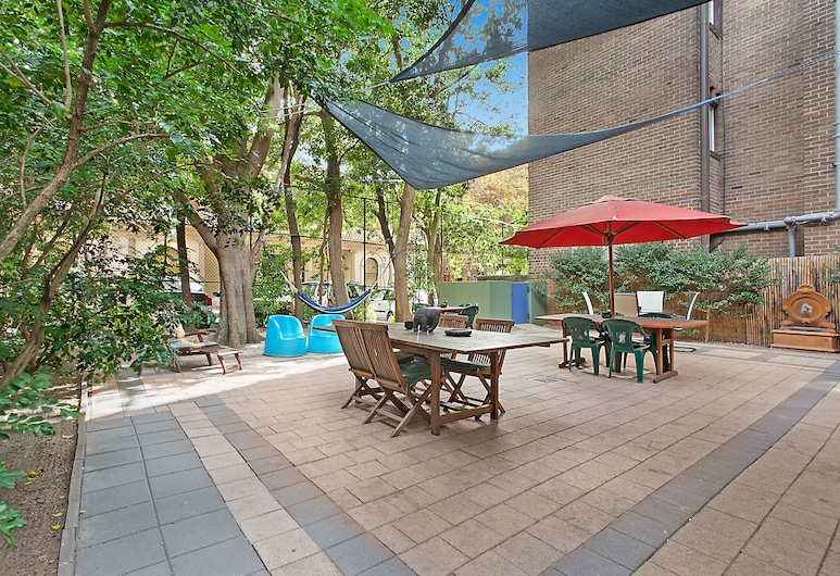 Blue Parrot Backpackers, Potts Point, Terrasse/Patio