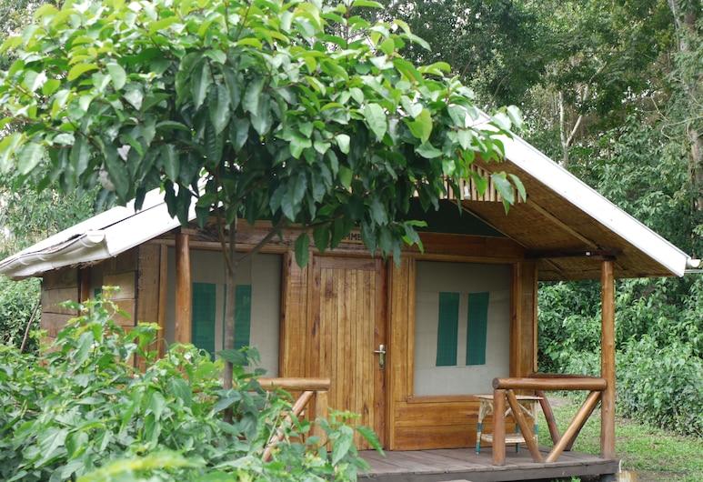 Rweteera Safari Park, Fort Portal, Cabin, Hotel Front