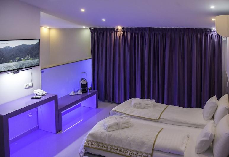 Hotel Christina Plus, Bucarest, Habitación doble Deluxe, sauna, Habitación