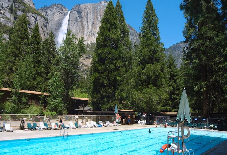 Yosemite Valley Lodge, Nacionalni park Yosemite, Vanjski bazen
