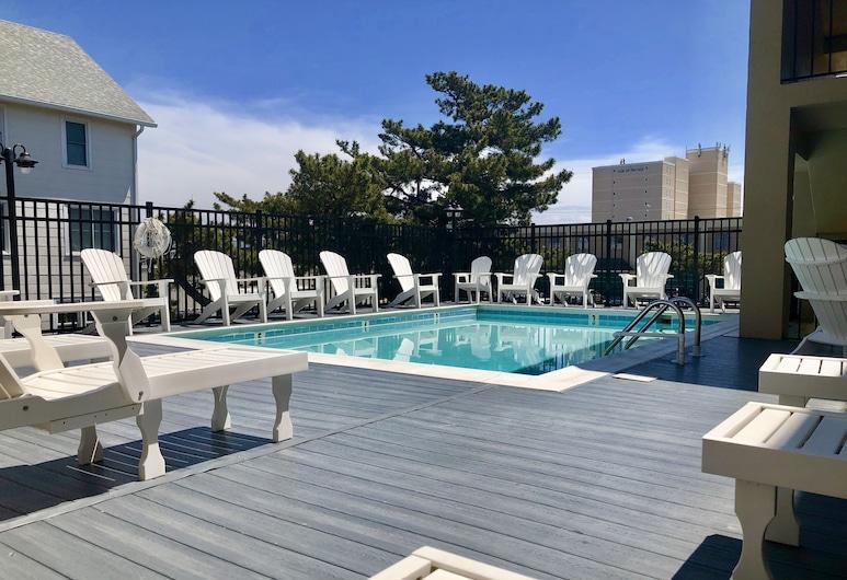 Beach View Hotel, Rehoboth Beach, Vanjski bazen