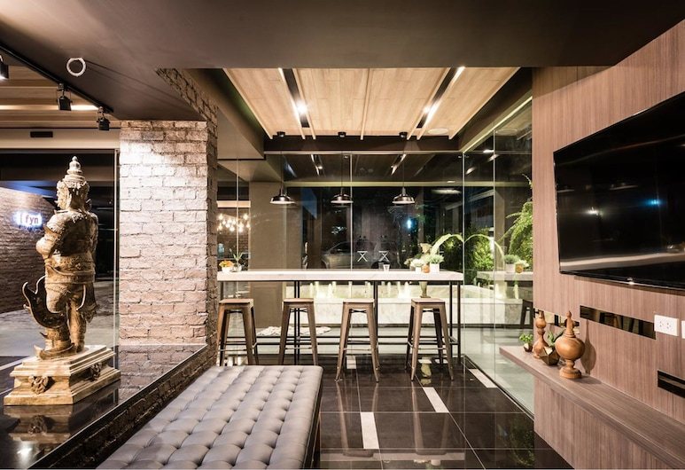 フィン ホテル, バンコク, ロビー応接スペース