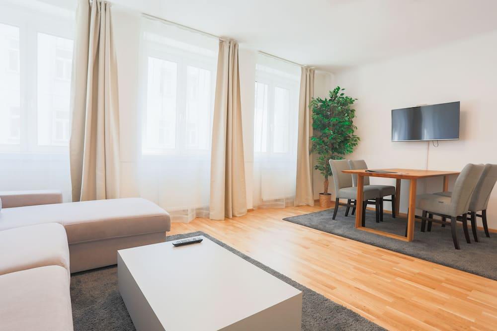 Departamento Premium, 1 habitación, cocina - Sala de estar