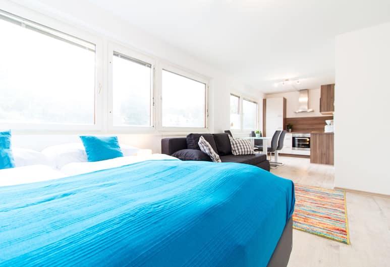 CheckVienna Apartment Veitingergasse II, Wiedeń, Apartament typu Comfort, Pokój