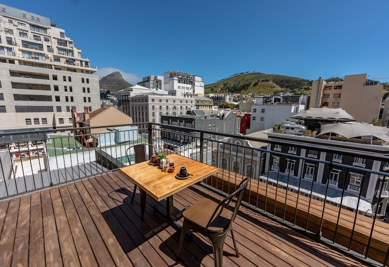 InnsCape on Castle, Cape Town, Rooftop terrace
